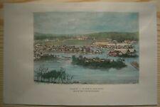 1883 Reclus print SINGAPORE (#84)