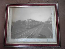 Vintage Photo Pennsylvania Railroad Engine Train Steam/Deisel? 1930's? Dennison