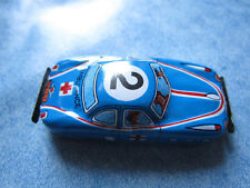 TN TOYS mini auto in latta anni '60 made in japan Tin blu