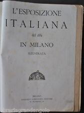 Expo Esposizioni Industria Tecnica Lavoro Esposizione Italiana Milano 1881