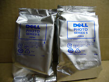 Lot Of 2 New Genuine Dell Series 5 Photo Ink Cartridges J4844