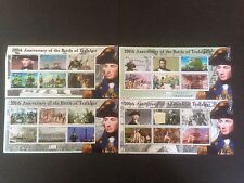 Solomon Islands 2005 Battle of Trafalgar 4 x Mini Sheets SG 1087-1110 MNH