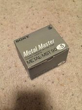 Box of 5 New Sealed Sony Metal Master 90 Made in Japan