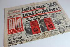 BILDzeitung 28.02.1970 Februar Umschlagsseiten / 4 Seiten