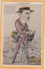 Esperanto Postcard - M. Genermont