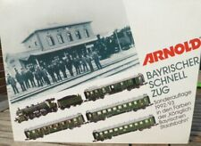 Arnold 0235 & Minitrix N Bávaro Tren Rápido Con Locomotora de S 3/6 neuwertig
