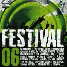 Festival 06 Gnarls Barkley, Muse, Green Day, Kaiser Chiefs, Snow Patrol.. [2 CD]