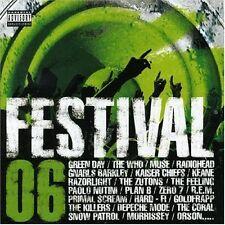 Festival 06 Gnarls Barkley, Muse, Green Day, Kaiser Chiefs, Snow Patrol.. [2 CD]