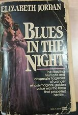 BLUES IN THE NIGHT - ELIZABETH JORDAN - FAWCETT GOLD MEDAL - 1987 -M