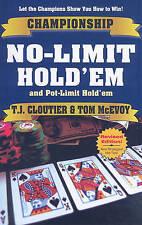 USED (GD) Championship No-Limit & Pot-Limit Hold'em by Tom McEvoy