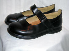 Womens BIRKENSTOCK FOOTPRINTS Black Mary Janes Shoes SIZE 38 US 7-7.5 M