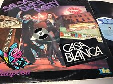 "LP 12"" 33 Rpm SALSA DISCO PARTY CASA BLANCA -LA MARIPOSA 2 LPS SET ON TR"