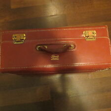 New listing Vintage Pfizer Medical Rep Locking Carrying Case Brown