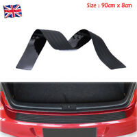 Rear Bumper Rubber Protector Cover Strip Plate Guard 90cm For VW Benz Audi BMW