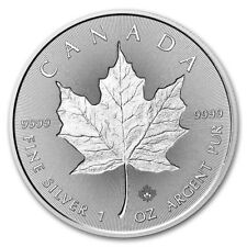 2018 $5 Canada 1 oz Silver Incuse Maple Leaf Coin
