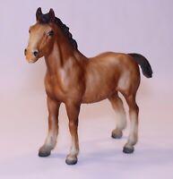 VTG Breyer Clydesdale Draft Foal Model Horse USA Chestnut Sabino Bay #84