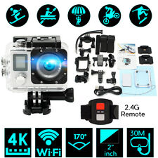 A1 Dual Screen 2'' 170° 4K HD WiFi Sports Action Camera DV With Remote Control