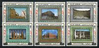 Jordan 2018 MNH Cradle of Civilizations OVPT Jerash 6v Set Architecture Stamps