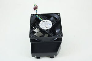 HP RP5800 Desktop PC Cooling Chassis Fan Assembly 653024-001