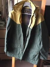 Lovely Barbour Men's Long XL 48in Thornhill Raincoat Immaculate Condition