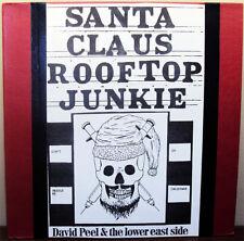 1973 David Peel & Lower East Side Santa Claus Rooftop Junkie Record Autographed
