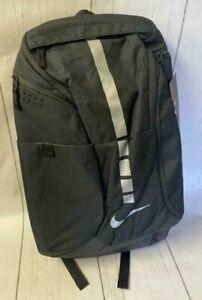 Men Nike Hoops Elite Pro Basketball Black/Metallic Gray Backpack NWT BA5554-011