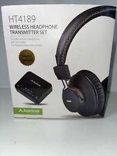 Avantree Bluetooth Wireless Headphones Set / Tv Pc Transmitter Optical Rca 3.5mm