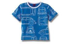 BLUE VW BEETLE MOTIF CHILDRENS T SHIRT 3-4 YEARS GENUINE VOLKSWAGEN MERCHANDISE