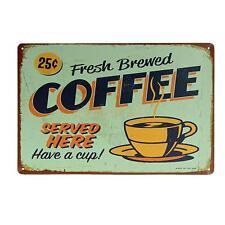 20x30cm COFFEE Shabby Chic Metal Sign COFFEE Poster Pub Bar Wall Decor 02