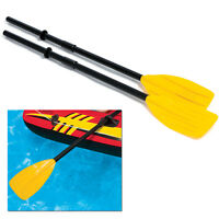 "Intex Pair Oars 48"" Plastic Oar for Inflatable Boat Paddle Rafting Kayak Canoe"