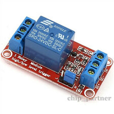 12V 1-Channel H/L Relay Module High Level with Optocoupler Triger for Arduino