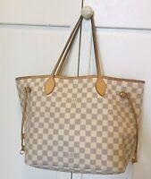 Louis Vuitton Damier Azur Neverfull MM Guaranteed Authentic