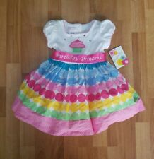NWT- Bonnie Jean (Baby)- Birthday Party Dress- 24 Months- Polka Dots-Cupcake