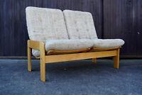 60er Swedese Sofa Danish Modern 2er Couch Yngve Ekström Loveseat Vintage 1 von 2