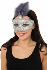 Feather Eyemask Halloween Costume Masks