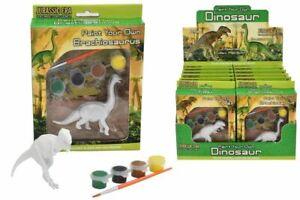 Small Paint Your Own Dinosaur Kit ART children present/ good for skills