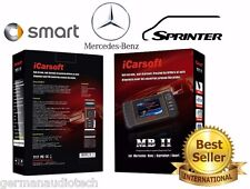 MERCEDES-BENZ OBD2 DIAGNOSTIC SCANNER TOOL ERASE FAULT CODES BEST  iCARSOFT MBII