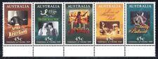 Australia (Scott 1445A) - 1995 Movie Scene Posters - Strip (5) - Mnh