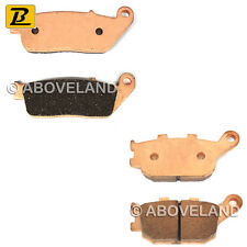 FRONT REAR Sintered Brake Pads for HONDA NC 700 S (Non ABS) 2012-2013