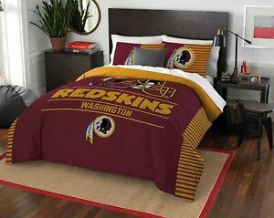 Washington Redskins Bedding Full/Queen (Draft) OFFICIAL NFL