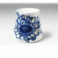 Lomonosov Table Wear Porcelain Singing Garden Salt Box 2 Inch