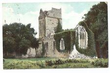 Ireland; Killarney, Muckross Abbey Ruins PPC, 1911 Local PMK