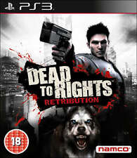 Dead to rights retribution ~ PS3 (en très bon état)