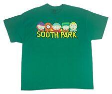 South Park Men's T Shirt Cartman Kenny Kyle Stan Butters Logo Graphic Tee