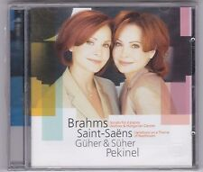 GÜHER & SÜHER PEKINEL-BRAHMS-SAINT-SAENS-CD 2005-NEU! OVP! NEUWARE!