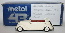 Metal 43 / Minimarque 1/43 Scale - Mercedes 170 Tourer Open 4 Dr - White