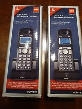 RCA 25055RE1 (2-Pack) DECT 6.0 Accessory Handset