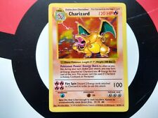 1999 Charizard Shadowless Base Set 4/102 NM-MINT Amazing Condition!