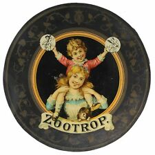 ZOOTROP Adolf SALA vers 1890 / optical toy magic lantern