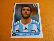 120 HIGUAIN ARGENTINA  PANINI FOOTBALL FIFA WORLD CUP 2010 COUPE DU MONDE